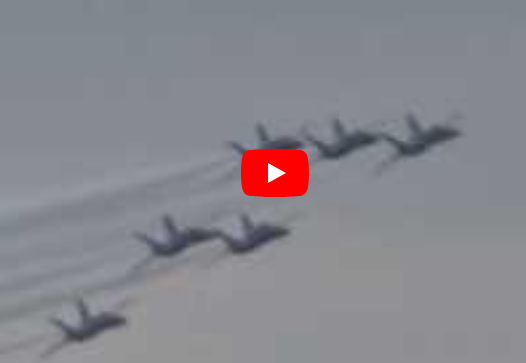 Link to my YouTube video of Blue Angels